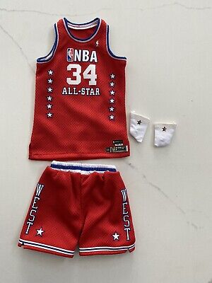 $34.34 • Buy 1/6 Lakers Shaquille O'neal All Star Jersey Set For ENTERBAY - USA SELLER