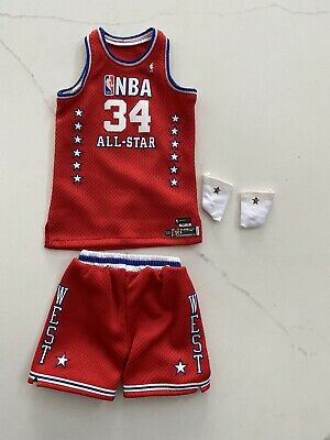$45 • Buy NEW 1/6 Lakers Shaquille O'neal All Star Jersey Set For ENTERBAY - USA SELLER