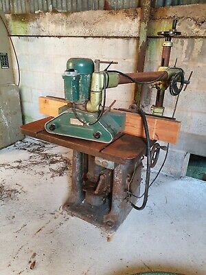 £875 • Buy Wadkin Spindle Moulder With Power Feed - 400V - Will Be Cleaned For Sale.