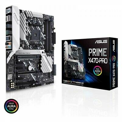 AU491.56 • Buy ASUS ATX Motherboard PRIME X470-PRO AMD AM4 Socket For AMD Ryzen Fast Ship Japan