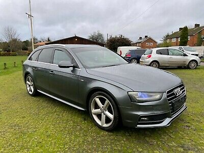 AUDI A4 AVANT S LINE 2.0 TDI MANUAL 6 SPEED 2013 Swap Swop Px  • 7,999£