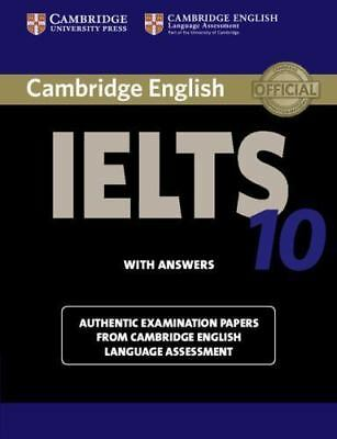 £19.47 • Buy IELTS Practice Tests Ser.: Cambridge IELTS 10 Student's Book With Answers :...