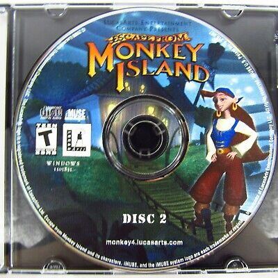 £5.21 • Buy Escape From Monkey Island PC CD-ROM 2000 Disc 2 Only