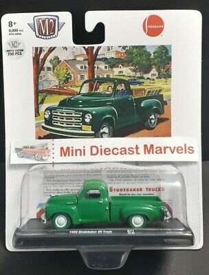 $ CDN24.98 • Buy 1/64 M2 Machines *Limited Edition 750 Pcs*  🇺🇸 1950 Studebaker 2R Truck + 1🎁