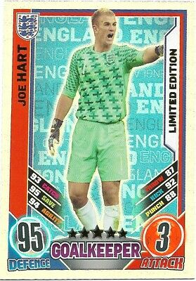 £44.95 • Buy  Match Attax England Euro 2012 Joe Hart Limited Edition