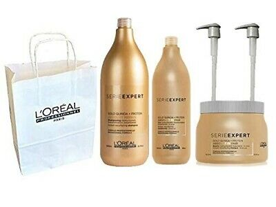 Loreal  Professionnel Serie Expert Absolut Repair Gold Shampoo 1500ml Conditione • 84.99£