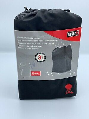 $ CDN37.81 • Buy Weber Grill Cover With Storage Bag For Spirit 210 Series Gas Grills 7105 New
