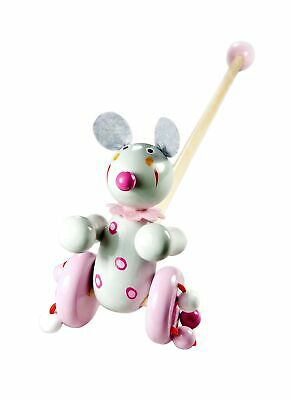 Push Pull Along Toy Mouse For Baby Or Toddler Girl Or Boy • 25.77£