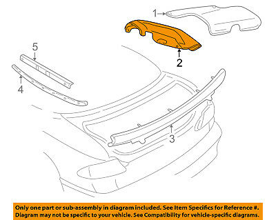 $270.35 • Buy GM OEM Stowage-Convertible/soft Top-Boot 12335409