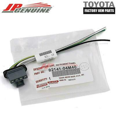 $20.66 • Buy Genuine Toyota 11-16 Tacoma Oem Blower Motor Resister Harness Wire 82141-04m40