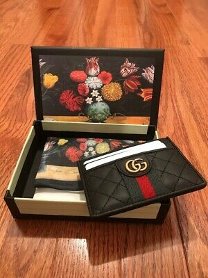 $279.99 • Buy Gucci Vintage Card Holder NEW! FREE SHIP!