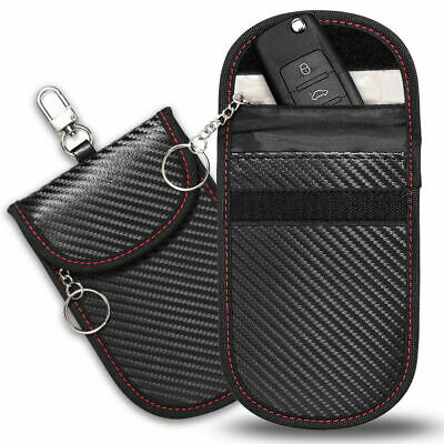 AU5.99 • Buy 2 X Large RFID Signal Blocking Pouch Faraday Bag Pouch Cage Wallet Case AUS