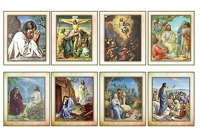 £3.25 • Buy SPIRITUAL/BIBLE/RELIGIOUS - 2 X A4 SHEETS OF CARD TOPPERS  SCRAPBOOKING - 250GSM