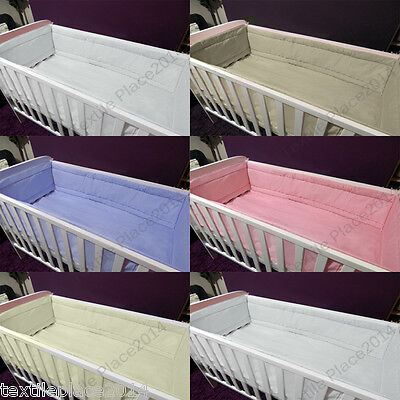£16.95 • Buy All Round Large Long Padded Soft Bumper To Fit Cot /Cot Bed