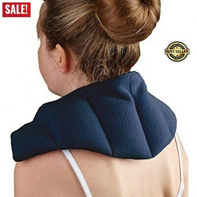 £10.36 • Buy Heat Pad Therapy Neck Shoulder Back Thermal Microwaveable Bag Warmer Wheat Pain