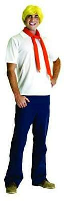 Scooby-Doo Deluxe Adult Fred Costume, FRED, Standard, Multicolor, Size STANDARD • 17.99£