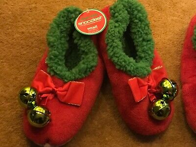 AU14.40 • Buy Unwanted Christmas Gift Ladies Elf Slippers Size 5  With Real Jingle Bells