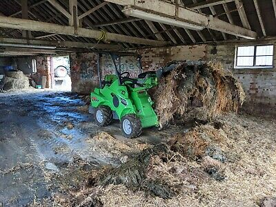 Avant Loader Hire With Muck Fork Grab Norfolk* Stables,livestock Shed Cleaning • 260£