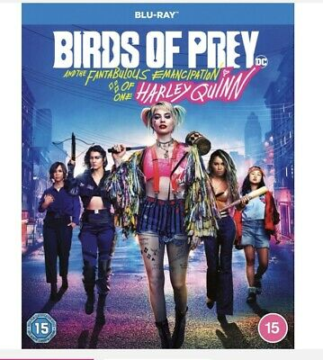 Birds Of Prey: And The Fantabulous Emancipation Of One Harley Quinn (Blu-ray,... • 9£