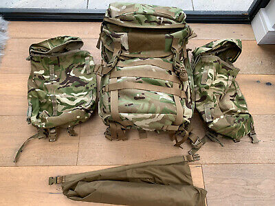 New Pri Infantry Bergen Daysack Mtp Multicam With Jet Packs / Side Pouches • 100£