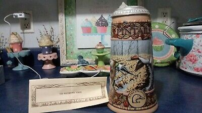 $ CDN33.79 • Buy 1990 Ducks Unlimited Lidded Pintail Beer Stein Carolina Collection Awesome