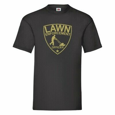 £9.99 • Buy Lawn Enforcement Officer Funny Gardening T Shirt Small-5XL 16 Colours To Choose