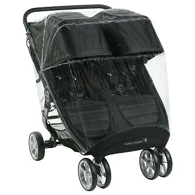 Baby Jogger Weather Shield Pushchair Rain Cover | For City Mini 2 Double & Ci... • 66.38£