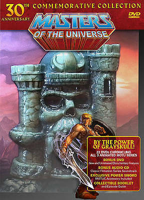 $135 • Buy Masters Of The Universe 30th Anniversary Commemorative Collection DVD
