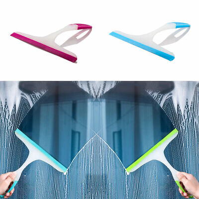 Bathroom Shower Screen Squeegee Glass Window Cleaning Wiper Cleaner Mirror Good • 3.59£