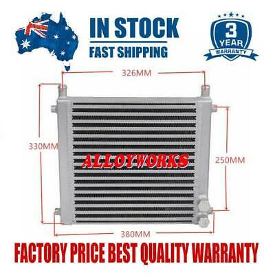 AU199 • Buy Water To Air Intercooler Fits Toyota Landcruiser 80/100 Series 1HZ 4.2L Turbo