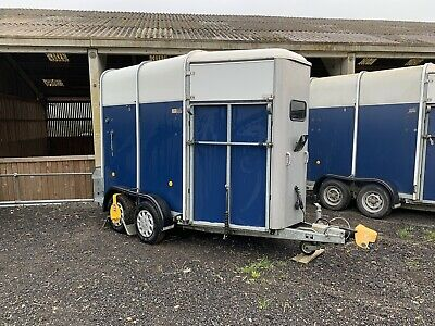 Ifor Williams Hb505r Horse Trailer. Alloy Floor. Blue. Good Condition. • 2,750£