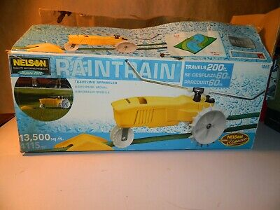AU128.20 • Buy Nelson Rain Train Garden Sprinkler Tractor Model 1865 New Old Stock In Box