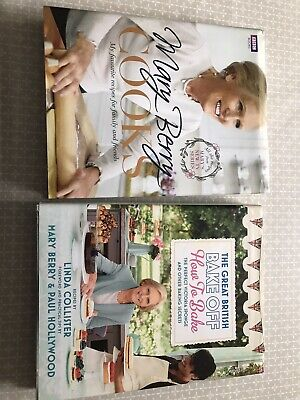 £2.50 • Buy 2 Mary Berry Books Bake Off And Cooks