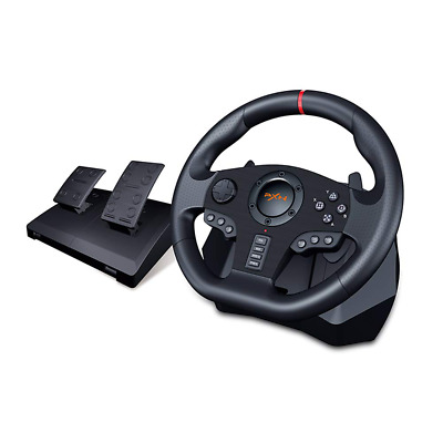 £141.96 • Buy Steering Wheel Pedal Set Racing Driving Gaming Simulator PS3,PS4,PC,XBOX Switch