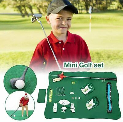 UK Indoor Mini Golf Game Plastic Golf Club Games Toy Set With A Little Guy  • 31.99£