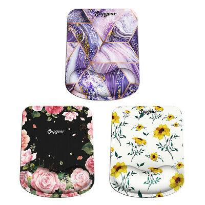 £7.98 • Buy Anti-slip Mouse Mat Pad With Pu Foam Wrist Rest Support Pc & Laptop Uk Seller