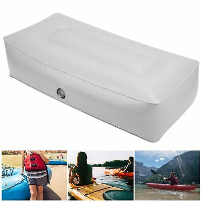 £8.03 • Buy Durable Kayak Inflatable Seat Pad Soft PVC Moisture‑Proof Fishing Boat Accessory