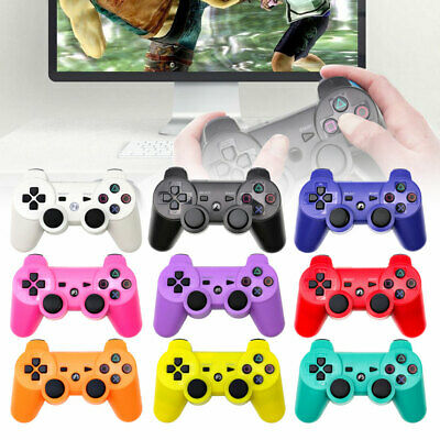 Dual Shock Wireless Bluetooth Controller Remote Joystick Gamepad For PS3 UK MS • 8.95£