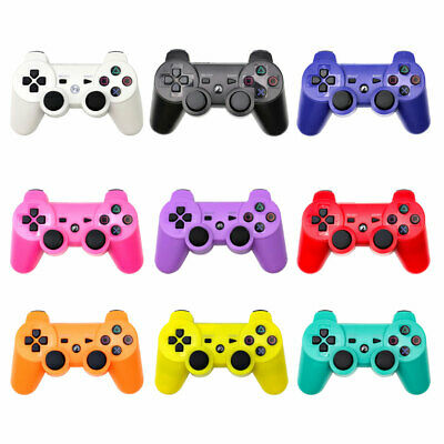 Wireless Bluetooth Controller Dual Vibration Gamepad For PS3 PlayStation 3 MS • 9.95£