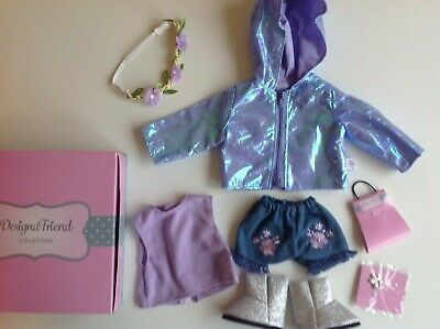 £18.95 • Buy Chad Valley Design A Friend Outfit Clothes With Coat For Designafriend 18  Doll