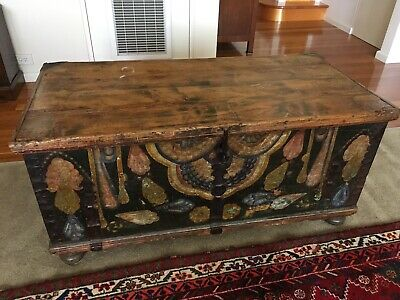 AU750 • Buy Antique Timber Chest