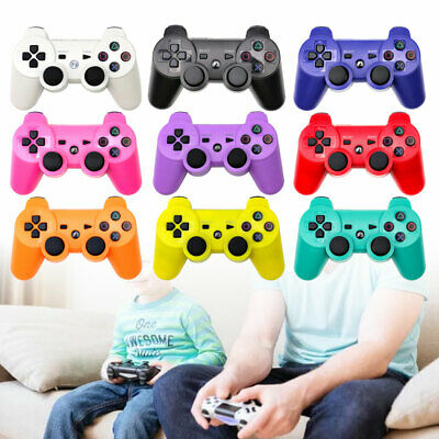 For PS3 Wireless Bluetooth 3.0 Controller Game Handle Remote Gamepad UK Stock • 8.89£