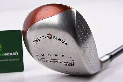Taylormade Burner Supersteel Driver / 10.5° / Reg Flex Bubble Shaft / Tadbur1479 • 29.95£