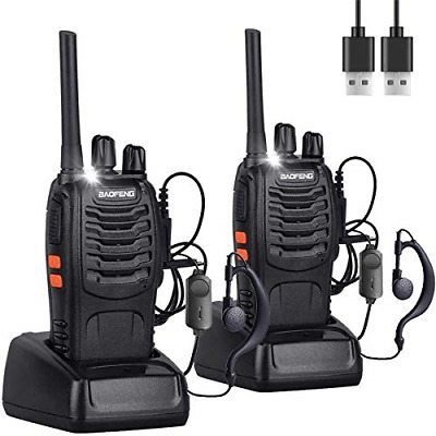 $ CDN61.07 • Buy Nineaccy Walkie Talkies Rechargeable Walkie Talkie Long Range 2 Way Radio Set 2