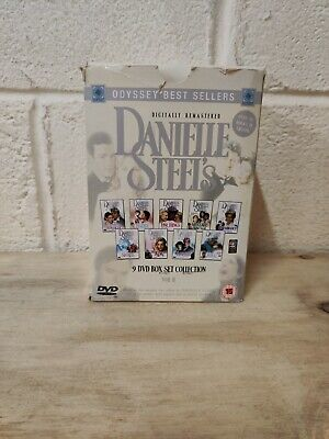 Danielle Steel's 9 DVD Box Set Collection RARE Digitally Remastered (L16) • 39.99£