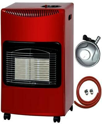 New 4.2kw Portable Fire Calor Gas Heater Lpg Cabinet Butane+ Free Regulator Hose • 74.95£