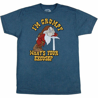 $17.99 • Buy Disney I'm Grumpy What's Your Excuse T-Shirt