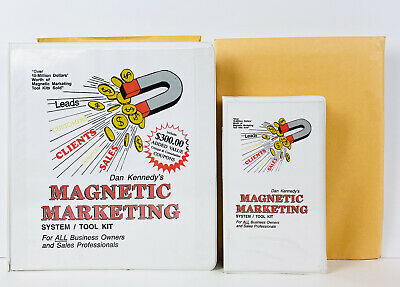 Dan Kennedy MAGNETIC MARKETING With Supplement/Reports  • 21.24£