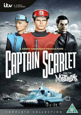 Captain Scarlet And The Mysterons: The Complete Series [Region 2] - DVD - New • 16.87£
