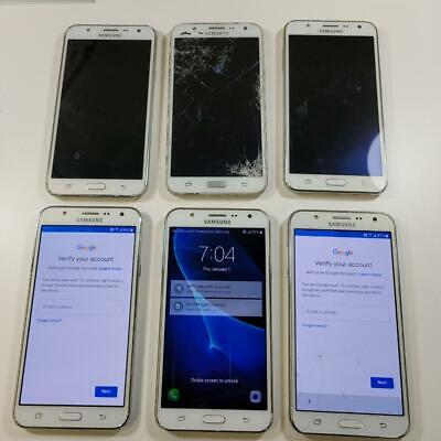$ CDN228.70 • Buy Lot Of 6 Samsung Galaxy J7 Smartphone (SM-J700T) - ASIS For Parts